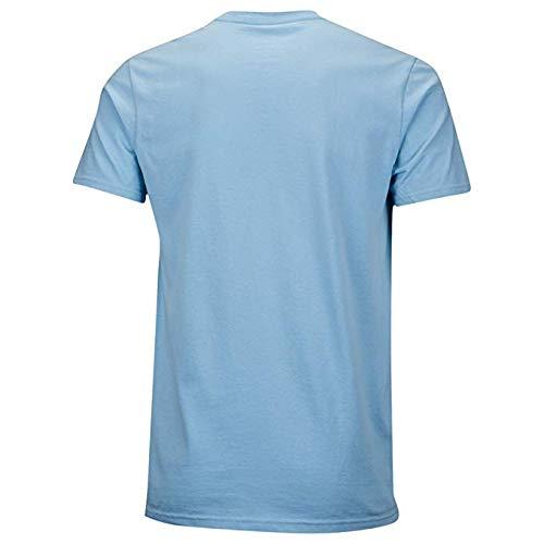 Preisvergleich Produktbild adidas Herren Circle Star Logo T-Shirt Medium Clear Blue Black
