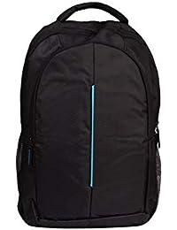 Faisal Raza Bag 15.6 inch Expandable Laptop Backpack 30 L Backpack (Black Blue)