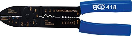 BGS 418 | Pince à sertir et dénuder | 235 mm