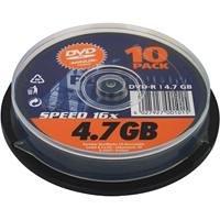 Platinum DVD-R 4.7GB Content 10 DVD Test