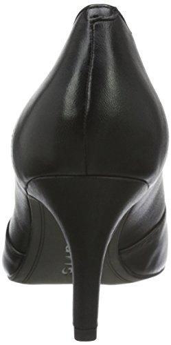 Tamaris 22424, Escarpins Femme Noir (Black Leather 003)