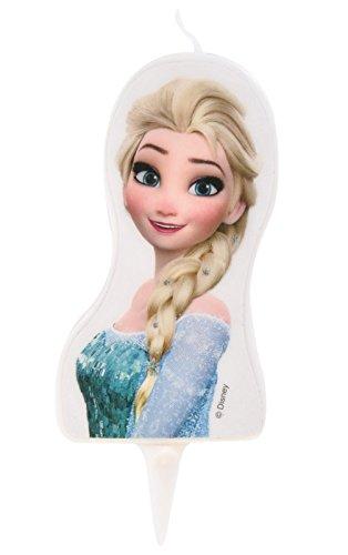 Bougie 2D Frozen Elsa La Reine des Neiges - Gateau Anniversaire Décoration - 228