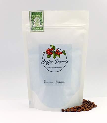 Ismaili Kaffee 100% Arabica - Hochwertiger Spezialitäten-Kaffee aus dem Jemen │ ganze geröstete Bohnen │Filterkaffee