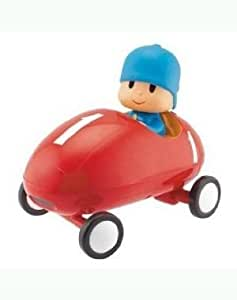 Cool Pocoyo Bump N' Go Racing Car 24741 (7.5 X 4.8 X 7 Inches) - Moves Back And Makes A U-Turn Jouets, Jeux, Enfant, Peu, Nourrisson
