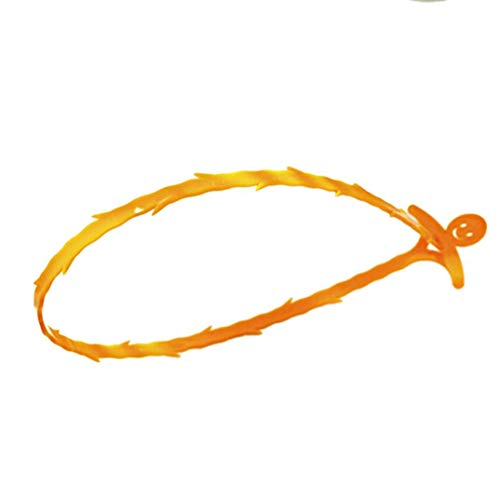 Wheel Cleaner Refill (KOKOUKSink Cleaning Hook, Home Kitchen Bathroom Drain Floor Drain Sewer Toilet Dredge Small Tools and Cleaning Tool by Green-World (Orange))