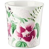 Rosenthal 61040–321347–24866Belles Fleurs Spring Roses–Lampada da tavolo con candela (Fleur Candela)