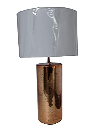 Impressions Living Table Lamp Gloss Distressed Copper