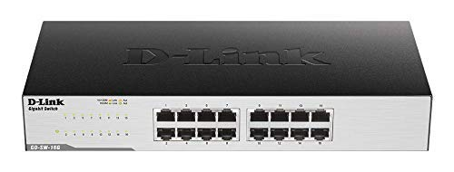 D-Link GO-SW-16G - Switch 16p Gigabit