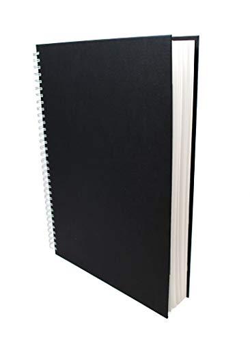 Artway Studio - Quaderno da disegno spiralato - Cartoncino senza acidi - Copertina rigida -170g/m² 48 pagine - A3 Ritratto