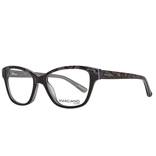 Guess Damen by Marciano Brille Gm0280 005 51 Brillengestelle, Schwarz,