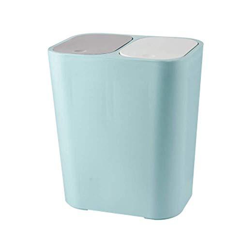 Cubo de basura//papelera con pedal hecho de acero inoxidable con medidas 39 x 28,5 x 25 cm 12 L higienico practico moderno Relaxdays color plateado