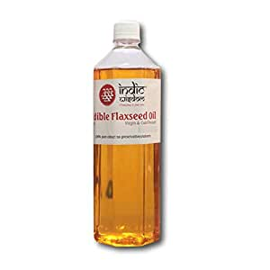 IndicWisdom Cold Pressed Flaxseed Oil 1L