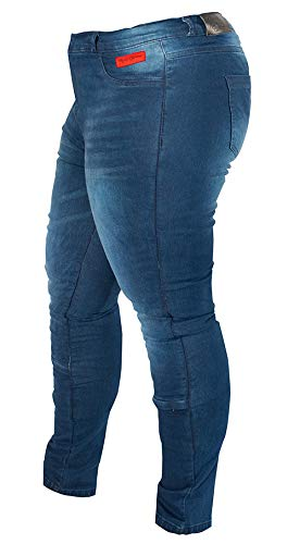 Rusty Stitches Super Ella Damen Motorradjeans 50