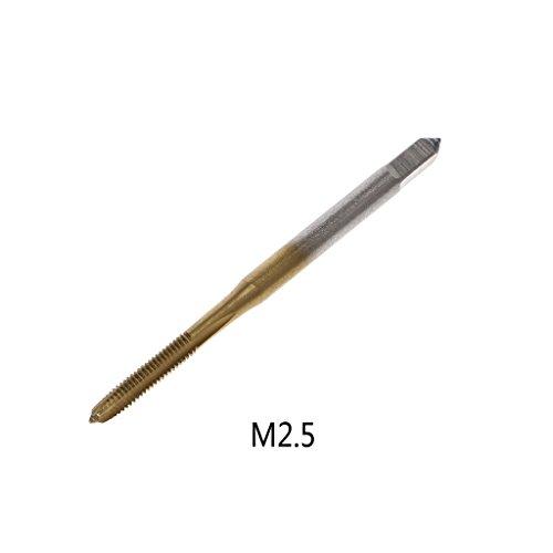 JENOR M2 / M2.5 / M3 / M3.5 / M4 / M5 / M6 HSS metrisches gerades Flötengewinde, gewindegewinde, Gewindegewindegewinde, Gewindebohrer für Wasserhähne