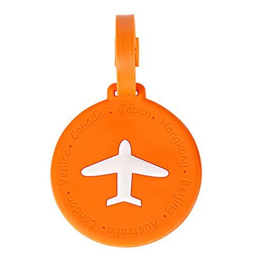 Kofferanhänger Reise ID-Etiketten Silikon-Kennzeichnungsetiketten Set Für Taschen