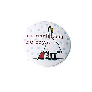 No christmas no cry, Button Magnet Flaschenöffner