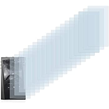 savvies Screen Protector compatible with Astell/&Kern A/&norma SR15 HD-Clear Protection Film 6 Pack
