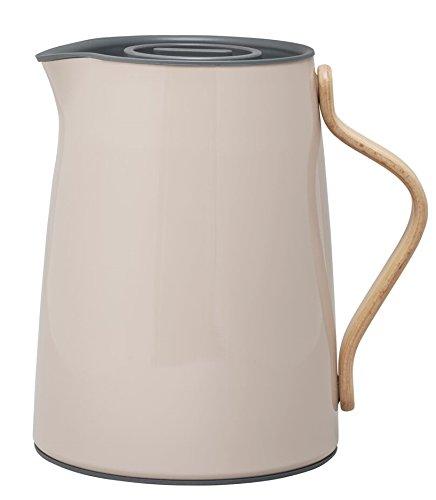 Stelton - Emma - Isolierkanne/Thermoskanne - Tee 1 L. - Nude 17 x 19,5 x 14 cm Design Tee