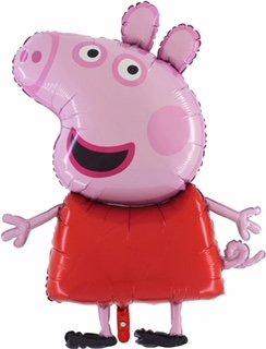 Peppa Pig Globo gigante de papel tamaño gigante de 37 pulgadas -...