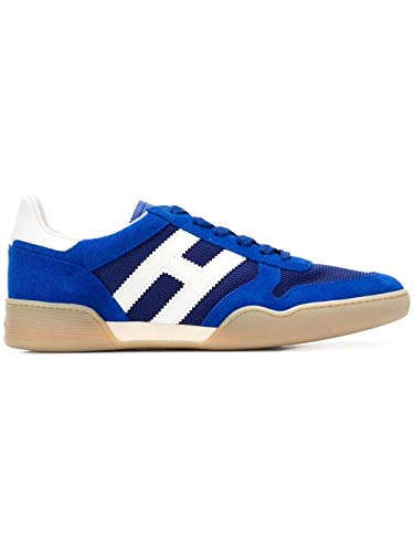 Hogan Luxury Fashion Uomo HXM3570AC40KFE677O Blu Sneakers | Stagione Outlet