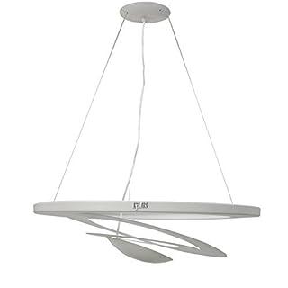 KJLARS Spirallampe Pendelleuchte Kronleuchter LED Designleuchte Hängeleuchte Pendellampe Hängelampe