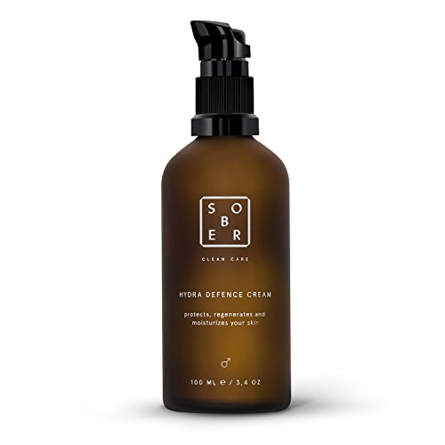 sober | Hydra Defence Cream | Gesichtspflege für Männer | vitalisierende Feuchtigkeitscreme Herren...
