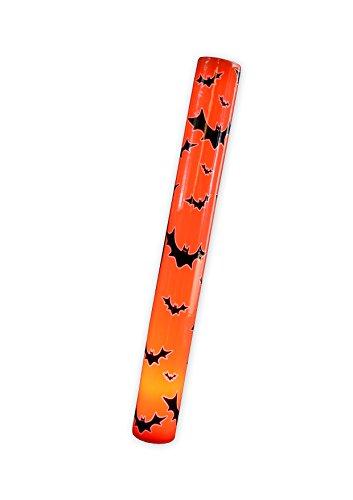 0 - LED Halloween Leuchtstab Fledermäuse, orange ()