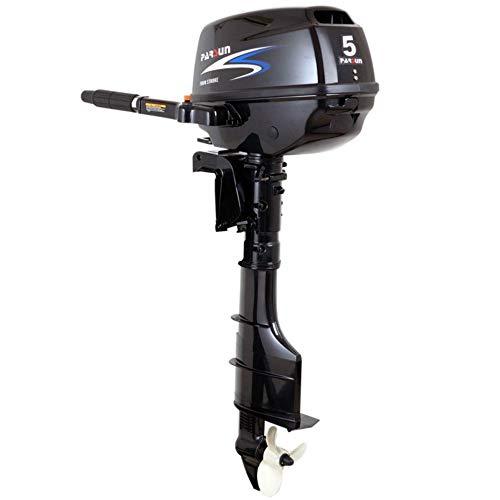 Parsun Aussenborder Benzinmotor 2,6-40 PS | Leistungsstarker 4-Takt Außenborder Bootsmotor |Einspritzer Außenbordmotor für garantierten Fahrspaß in diversen PS Ausführungen (5 PS, Langschaft)