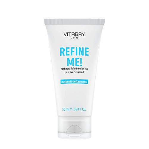 Refine Me! - 50 ml - Gesichtsmaske festigt und stärkt das Hautbild. Verfeinert große Poren. Mit Earth Marine Water & Meadowfoam Seed Oil. Reich an Mineralien. Erfrischt die Haut. Mit Boosting-Effekt.