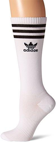 Adidas Damen Originals Knie Hohe Socken, damen, weiß / schwarz (Socken Knie Adidas Hoch)