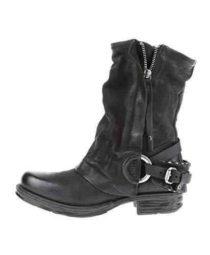 A.S.98 259214-101 - Damen Schuhe Boots Stiefel - 6002-nero-nero, Größe:41 EU