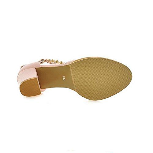 1to9 toe Sottolineato Per La Pompe Flessibili Scarpe Materiale Rosa Perla Donna Z6XZxrHq
