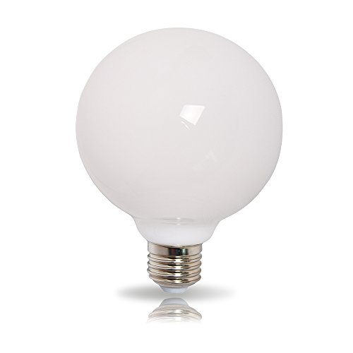LED Leuchtmittel 360° opal matt warmweiß 2700K - Globe G80 E27 9W = 60W (Globe-skala)
