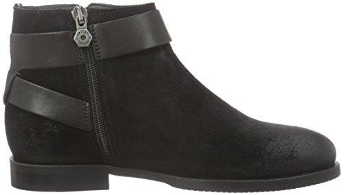 Hilfiger Denim Damen G1385enny 10c Kurzschaft Stiefel Schwarz (black 990)