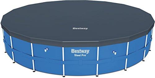 Bestway 58039 - Cobertor de PE para piscinas Steel Pro, Power Steel, Hydrium Splasher