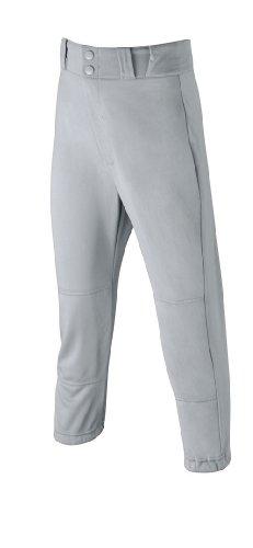 WILSON Jugend Poly Warp Knit Baseball Hose, Jungen, grau (Kinder Hose Für Baseball-uniform,)