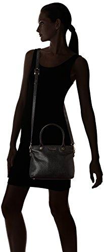 La Bagagerie - Annae Pm, Borsa con Maniglia Donna nero (noir)