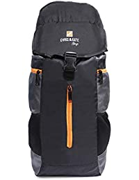 Chris & Kate Black Travel Rucksack Backpack-Trekking Backpacks-Camping Daypack Bag