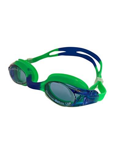 Professionelle Schwimmbrille für Kinder - Mit 2018 Funktionen ausgestattet - Anti-Fog - Verbesserte Augenmuscheln - Auto-Clip Justierbandsystem - Alter 3-12 Jahre