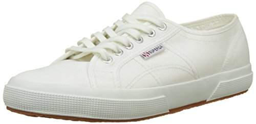 Superga 2750 Cotu Classic, Baskets mixte adulte Blanc Cassé - Bianco (White 901)