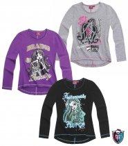 Monster High Super stylishes Langarmshirt in grau-pink - grau - 152