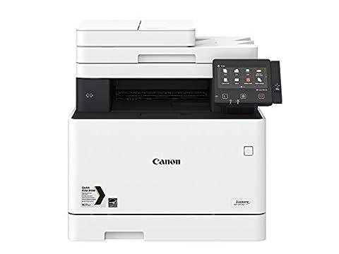Canon i-SENSYS MF734Cdw A4 Farblaser-Multifunktionsdrucker 4-in-1 (Drucken, Kopieren, Scannen, Faxen), weiß
