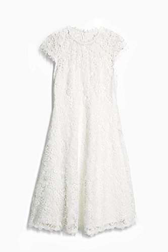 ESPRIT Collection Damen Kleid Weiß (Off White 2 111)