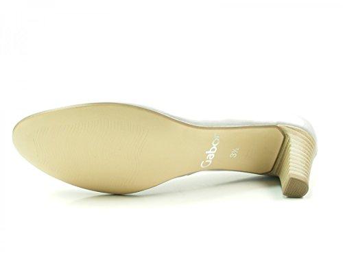 GABOR 85.200-94- Damenschuhe Modische Pumps/Ballerina, Mehrfarbig, Absatzhöhe: 50 MM Grau