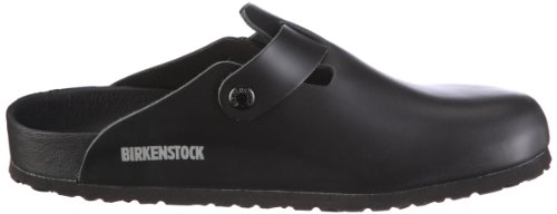 Birkenstock Boston, Sabots mixte adulte Noir (Schwarz_361)