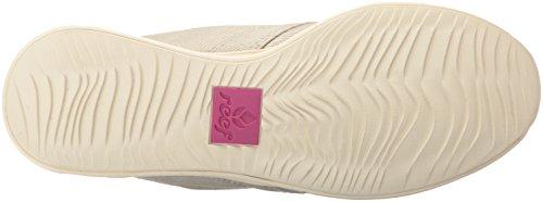 Reef , Baskets mode pour femme Crème