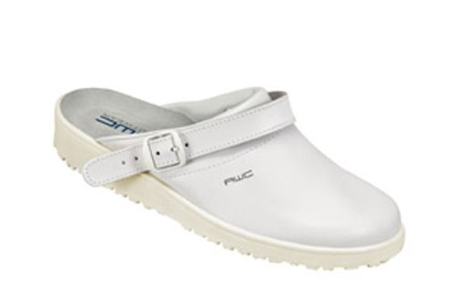 AWC  Sandale weiß/mint, Ristpolster, Sandales pour femme Blanc - Blanc