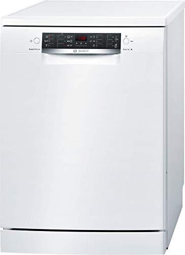 bosch sms46nw03e, lavastoviglie  serie 4, libero posizionamento, 14 coperti, classe a++, 44 decibel