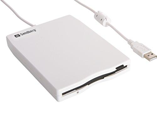 Sandberg 133-50 USB Floppy Mini Reader weiß - Usb-floppy-laufwerk Externe