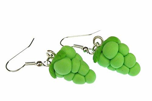 trauben-ohrringe-hanger-miniblings-weintraube-traube-wein-frucht-grun-3d